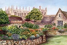 Christchurch College (in Oxford) by Wendy Griffiths